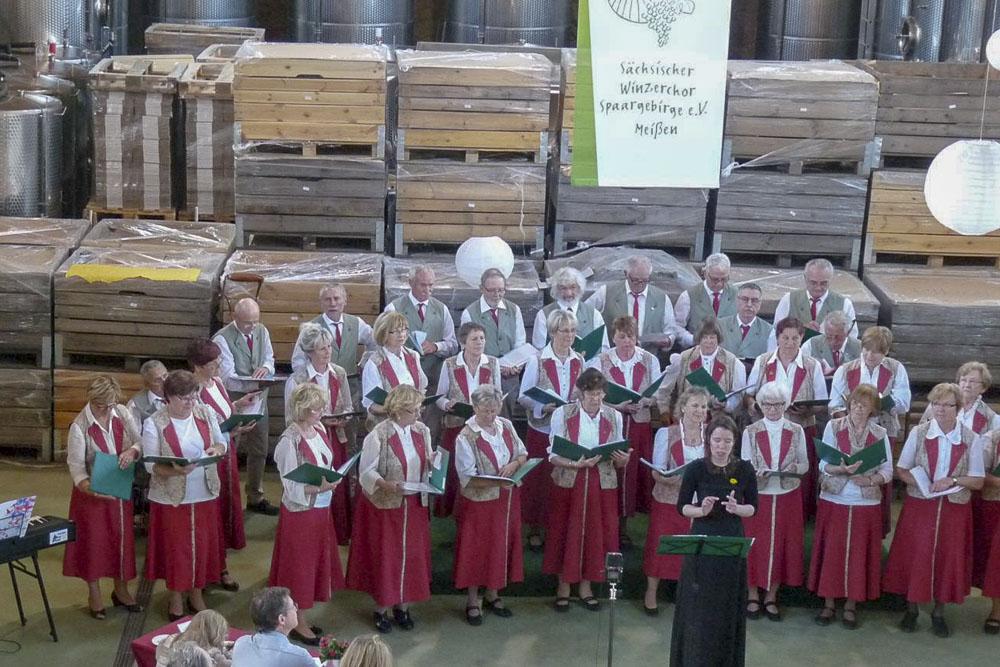 Winzerchor Meißen - Frühlingskonzert »Rothes Gut« Weingut Tim Strasser